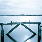 20130228 Guard Rail in Southampton Water
